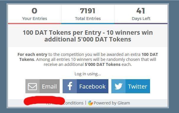 Бесплатные токены за регистрацию! бонусная bounty программа по ico btcsearch