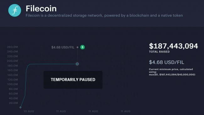 Ico блокчейн платформы filecoin за полчаса собрало $200 млн
