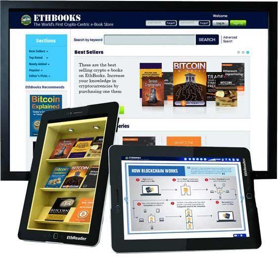 Ico проекта ethbooks — децентрализованный магазин электронных книг о криптовалюте и блокчейне