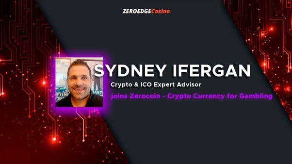 Эксперт по ico и криптовалюте сидней иферган присоединяется к zerocoin