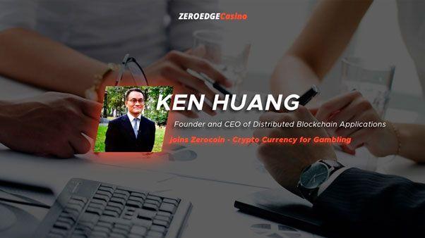 Кен хуан основатель и ceo distributed blockchain присоединяется к zerocoin