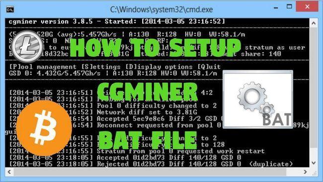 Настройка cgminer для майнинга на видеокартах amd и nvidia