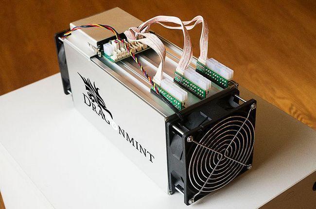 Разработан самый эффективный биткоин-майнер dragonmint 16t