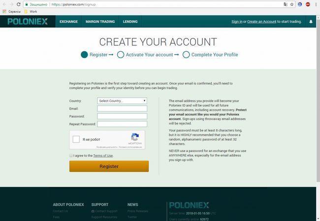 Вывод денег с биржи poloniex — инструкции и рекомендации
