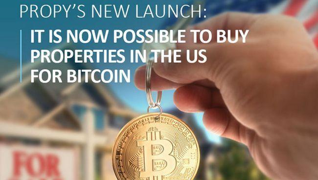 Запуск ico propy: теперь можно купить недвижимость в сша за биткоины